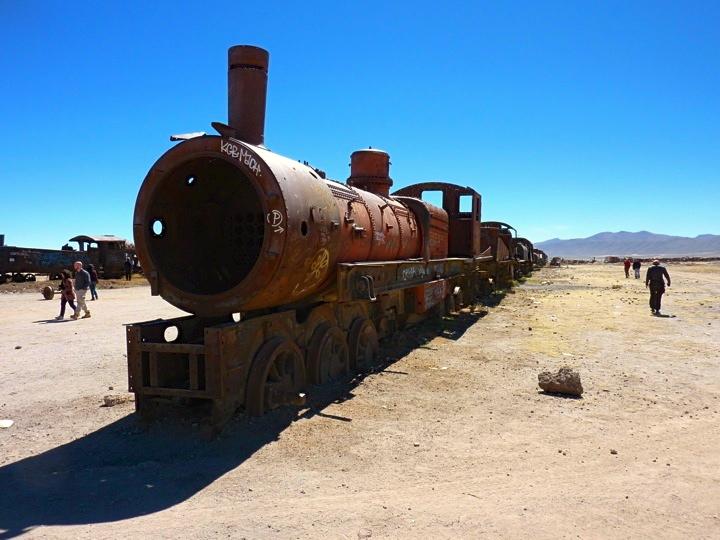 Train Cemetary