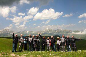 The expeditioners near the Turkey Georgia Border