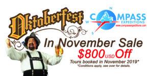 Oktoberfest in November Sale